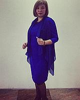 Дизайнерское платье с накидкой, фото 1