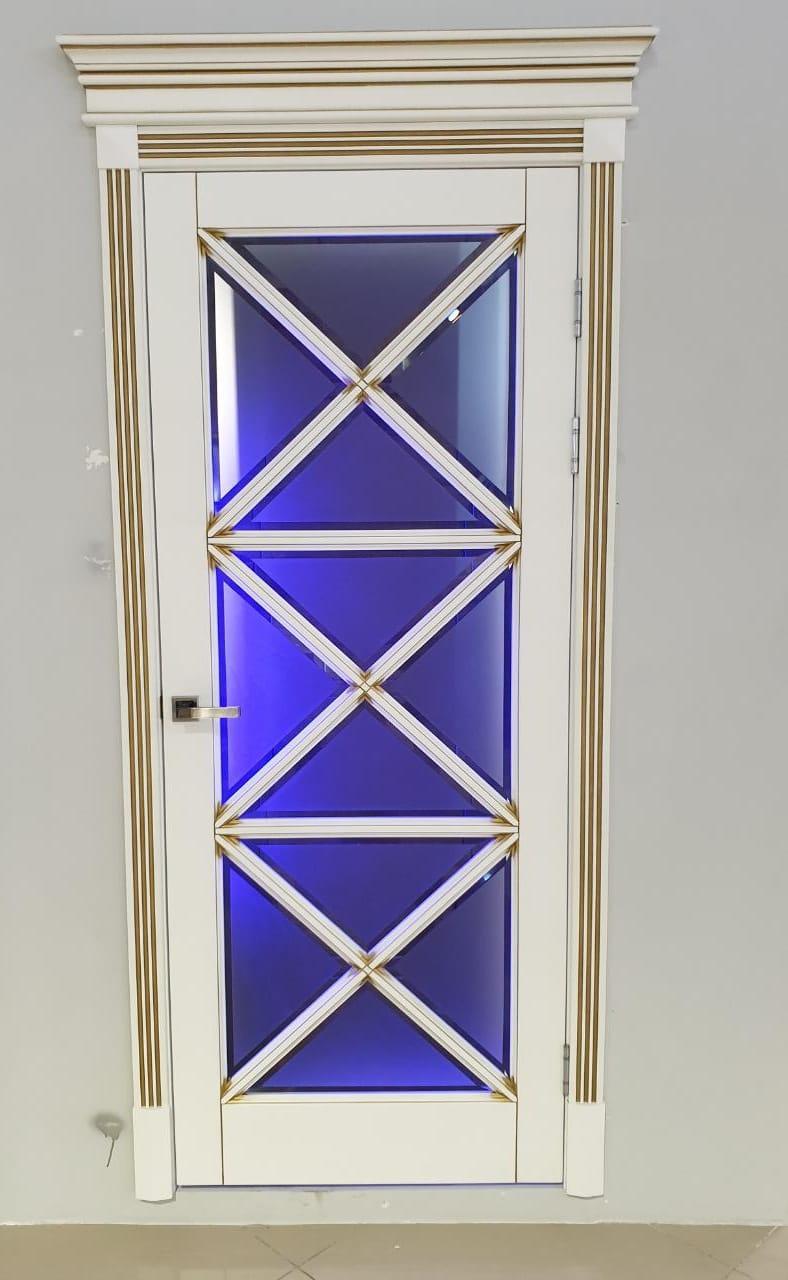 Межкомнатные двери Стекло франзуский стиль
