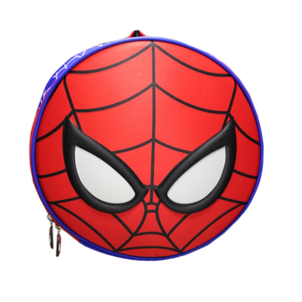 Рюкзак детский маленький, Spider Man круглый