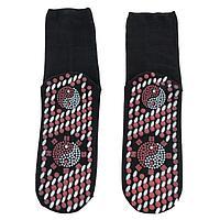 Турмалиновые носки согревающие с массажным эффектом, фото 1