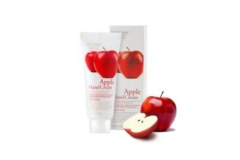 Увлажняющий крем для рук с яблоком 3W Clinic Moisturizing Apple Hand Cream 100ml.