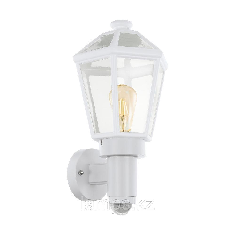 Уличный настенный светильник Eglo MONSELICE, пластик, стекло