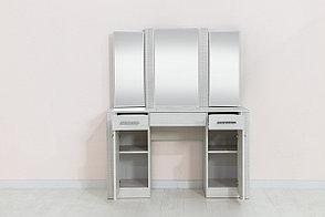 Тумба туалетная с зеркалом 2Д 3Я Гамма 20, Сандал, СВ Мебель (Россия), фото 2
