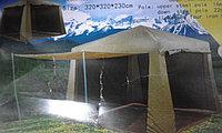 Шатёр 3х3м с маскитной сеткой+4 стенки