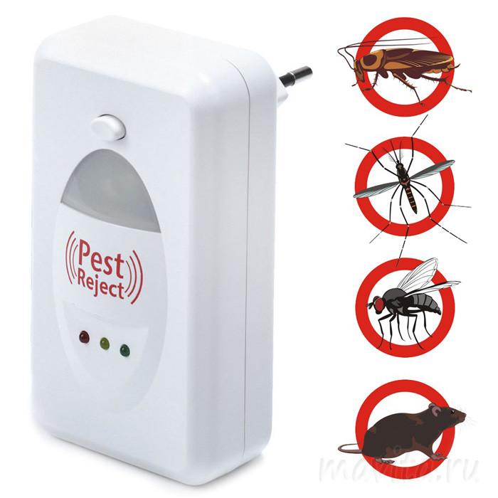 Устройство от насекомых и грызунов Pest Reject (Пест реджект)