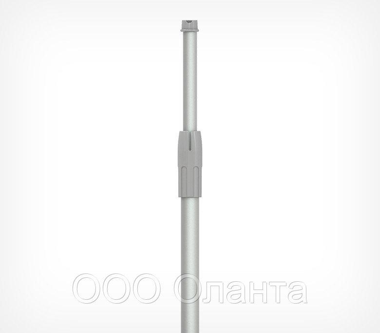 Алюминиевая телескопическая трубка под шарнирный держатель 350-550 мм (d=9-12 мм)