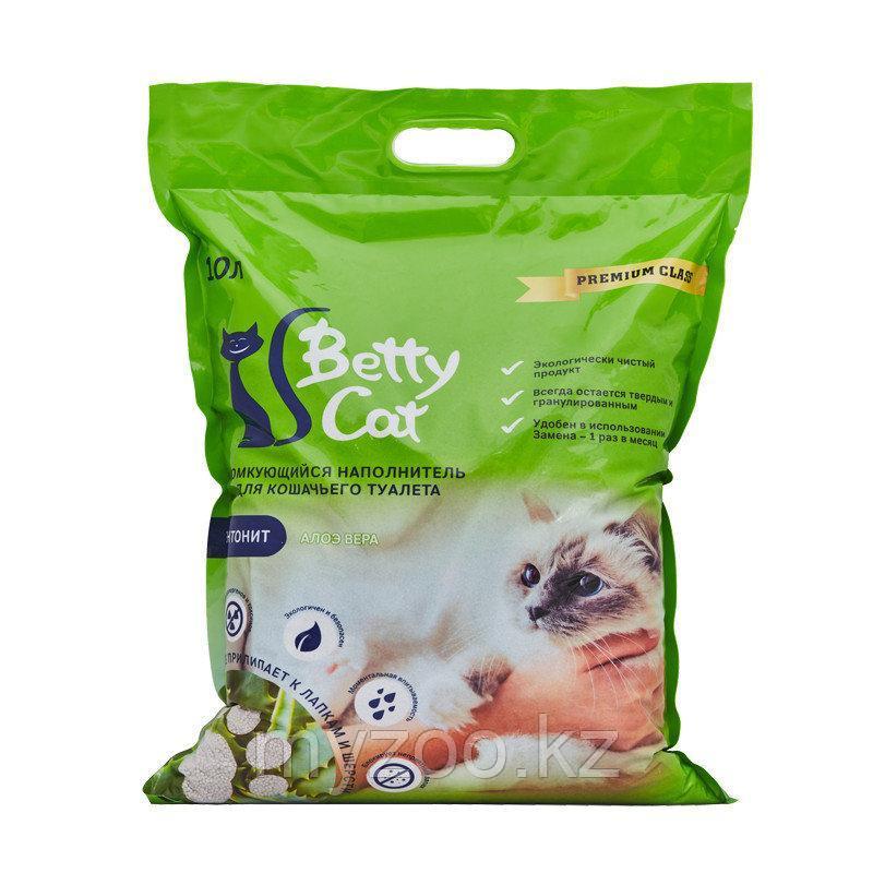 Наполнитель Betty cat (Бетти кэт) бентонит комкующийся, 10л (8кг) алое