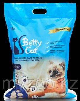 Наполнитель Betty cat (Бетти кэт) бентонит комкующийся, 10л (8кг) без запаха