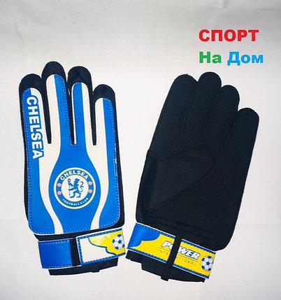 ВРАТАРСКИЕ ПЕРЧАТКИ Chelsea Размер M (цвет синий), фото 2