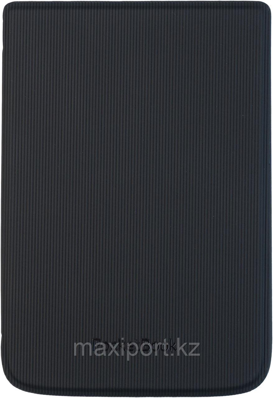 Чехол Pocketbook 616 626 632 606 628 633 модель в полосочку черный hpuc-632-b-s