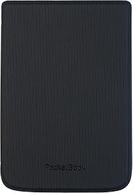 Чехол Pocketbook 616 627 632 606 628 633 модель в полосочку черный hpuc-632-b-s