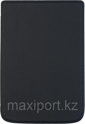 Чехол Pocketbook 616 626 632 606 628 633 модель в полосочку черный hpuc-632-b-s, фото 2