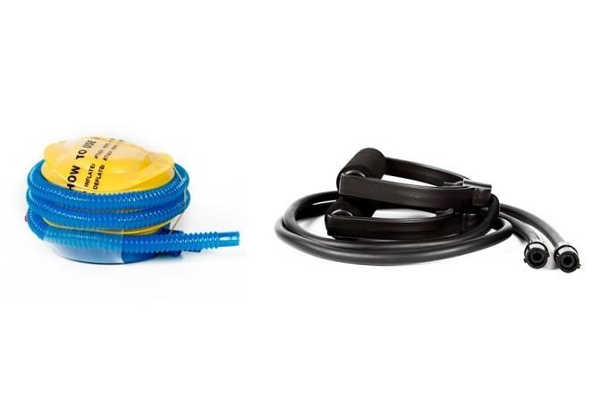Полусфера гимнастическая синия для BOSU (диаметр 59 см) - фото 2