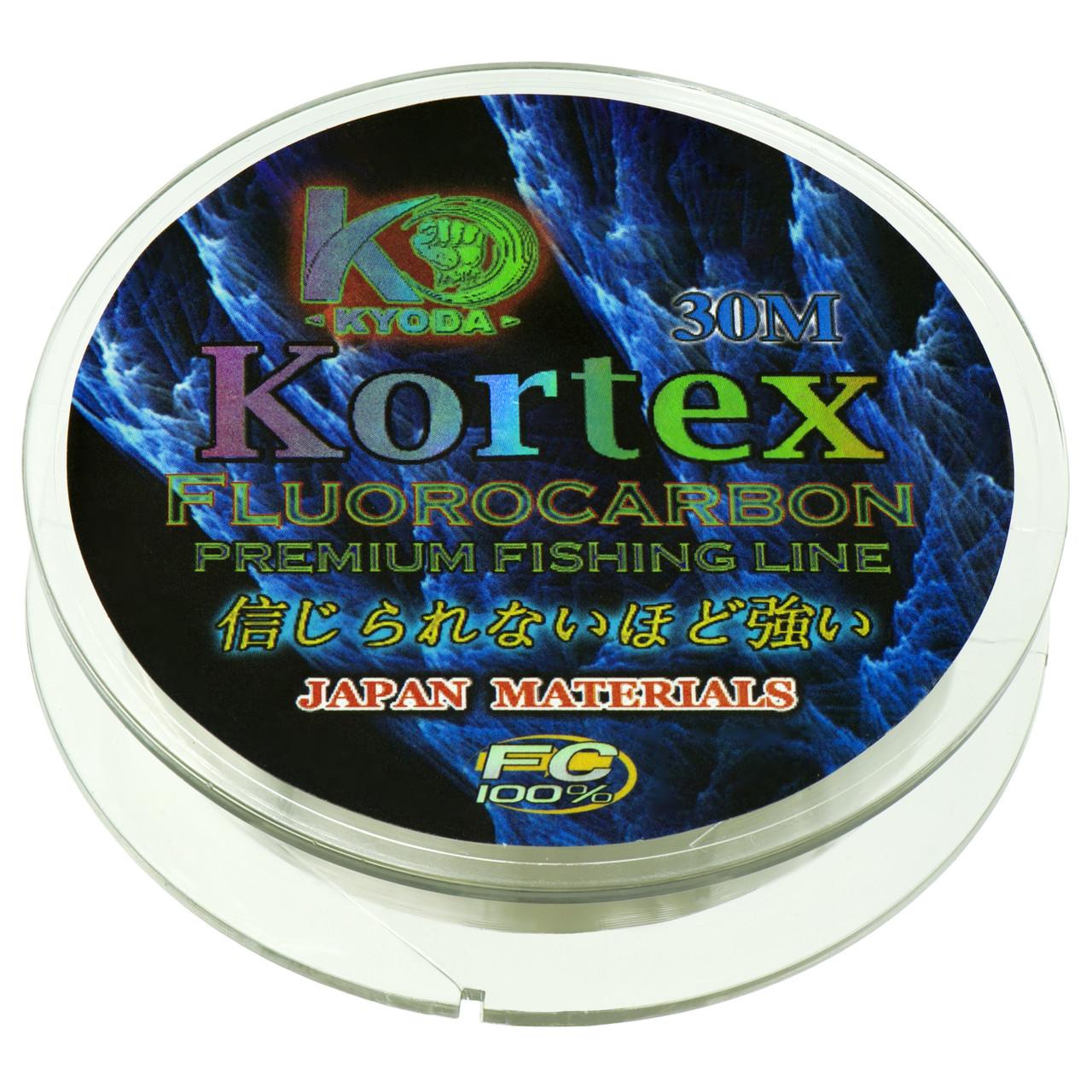 Kortex флюрокарбон d-0,10 мм, L-30 м,