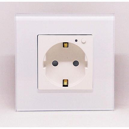 Умная WiFi розетка настенная STL V1-JV01, фото 2
