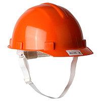Каска защитная из ударопрочной пластмассы, оранжевая Россия//СИБРТЕХ