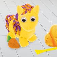 Игрушка из массы для лепки 'Пони' глазки, стека