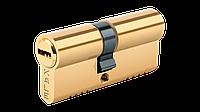 Цилиндр Kale Kilit 164/OBS B(90) 35/45 латунь, повышенной секретности, защита против бампинга (164OBSB0007)