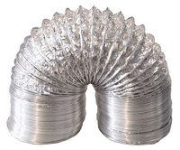 Гибкие фольгированные не изолированные воздуховоды круглого сечения д.127 мм