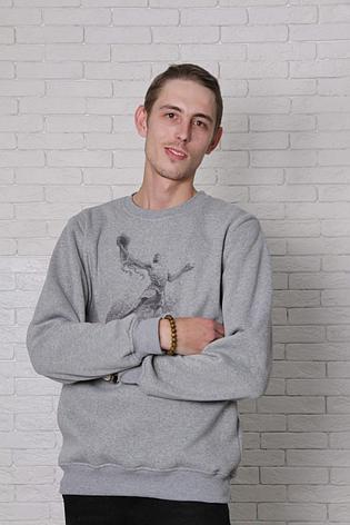 Свитшот серый - Jordan, фото 2