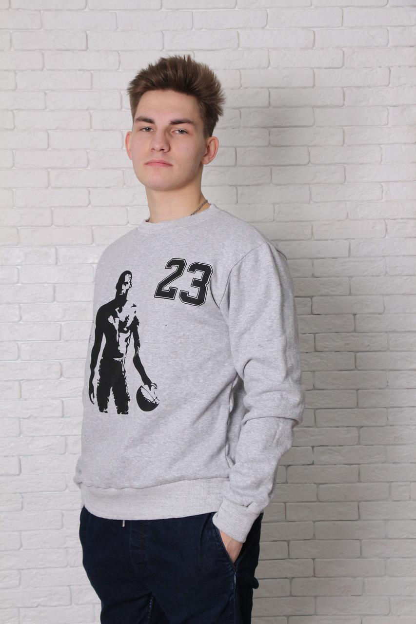 Свитшот серый - Jordan 23