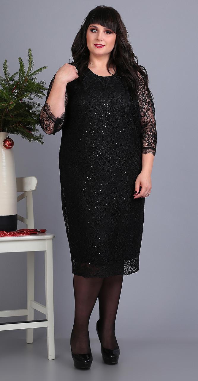 Платье Novella Sharm-3373, черный, 60