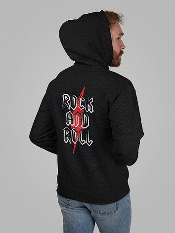 Худи черный - Rock n Roll, фото 2