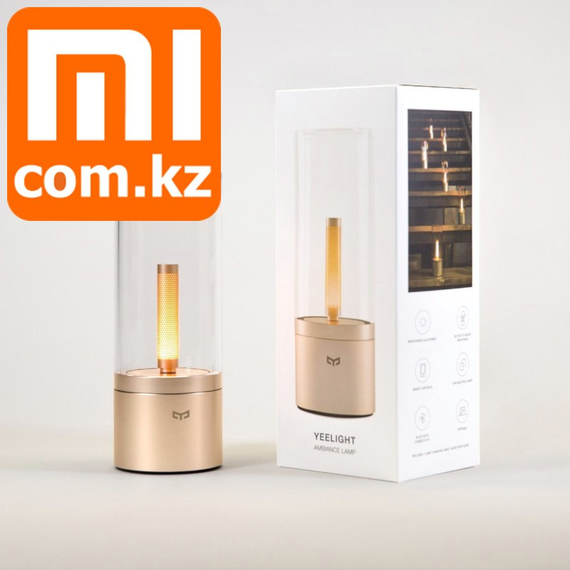 Умная лампа ночник свеча Xiaomi Mi Yeelight Candela Lamp, Wifi, Bluetooth. Оригинал.