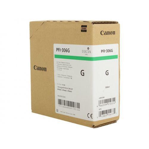 Картридж CANON PFI 306 Green 6664B001