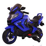 Электромотоцикл детский Kawasaki, белый, фото 2