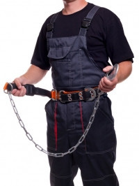 Пояс монтажный с цепью