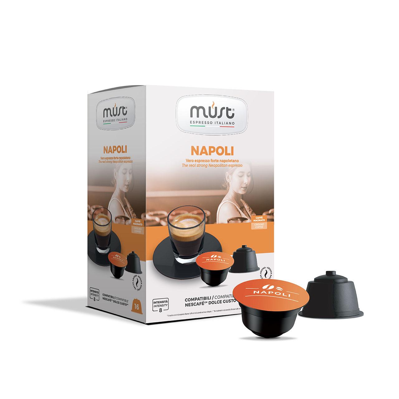 Кофе в капсулах системы Dolce Gusto Must Napoli (Наполи) 16 шт.