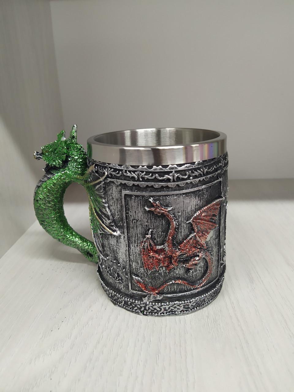 Кружка Игра Престолов дракон