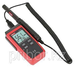 Миниатюрный измеритель влажности и температуры воздуха с выносным датчиком UNI-T UT333S. Внесен в реестр СИ РК
