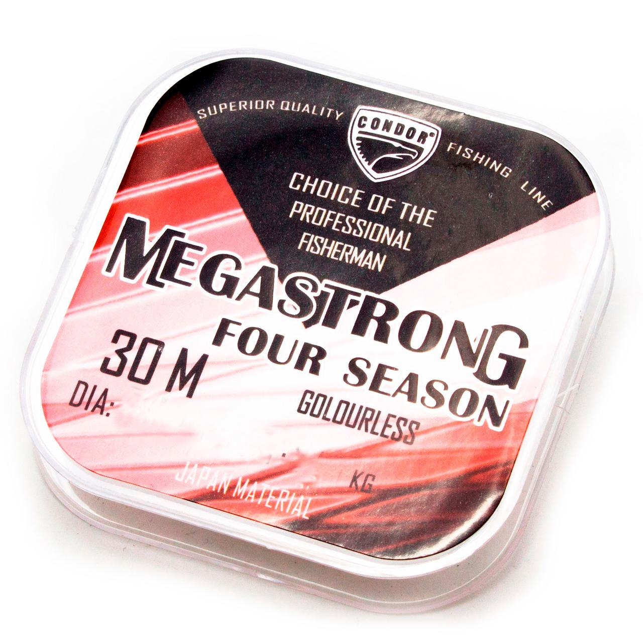 Megastrong Four Season d-0,12 мм, L-30 м,
