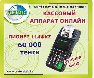 Кассовый аппарат Пионер 114ФKZ   Регистрация Обучение Поддержка Инструкции Гарантия