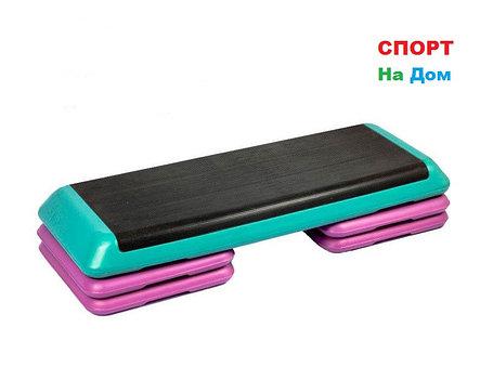 Степ платформа для кроссфита зеленая ( Габариты: 110 х 41 х 21 см ), фото 2