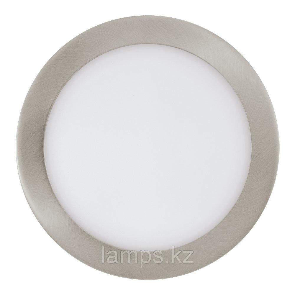 Встраиваемый светильник Eglo FUEVA 1, металл, пластик