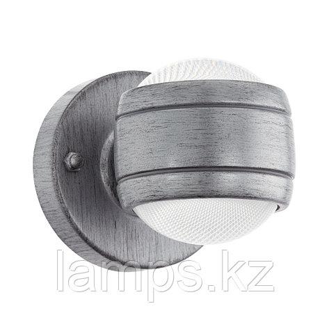 Светильник настенный Eglo SESIMBA,AL-LED-WL 2 SILBER-ANTIK,сталь,пластик, фото 2