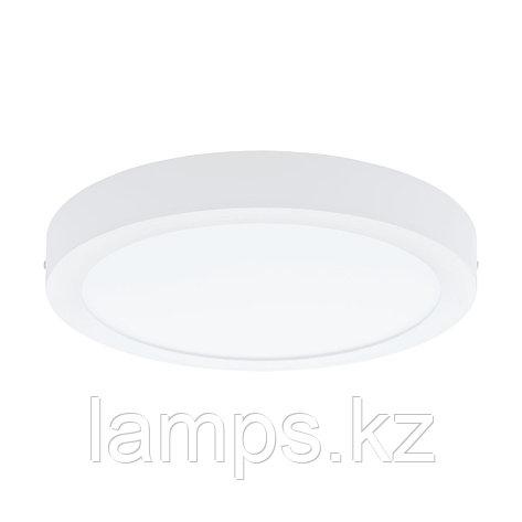 Накладной  светильник Eglo FUEVA 1, металл, LED-DL Ø300 WEISS 3000K, фото 2