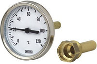 Термометр биметаллический WATTS T 63/50 SD