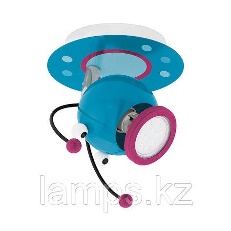 Светильник настенно-потолочный Eglo LAIA 1  WL/1 GU10 BUNT, сталь, фото 2