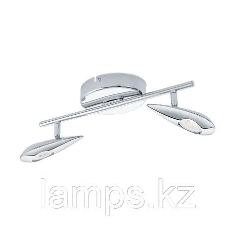 Светильник настенно-потолочный Eglo PEDREGAL,LED-LS/2 CHROM,сталь, фото 2