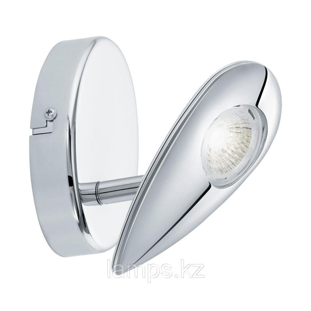 Светильник настенно-потолочный Eglo PEDREGAL,LED-WL/1 CHROM,сталь