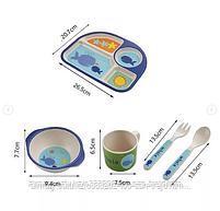 Бамбуковая посуда( уточнить о расцветках), фото 3