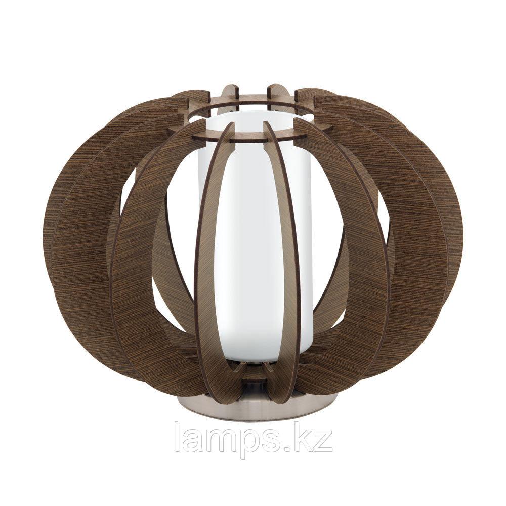 Светильник настольный  Eglo STELLATO 3, сталь, дерево, стекло