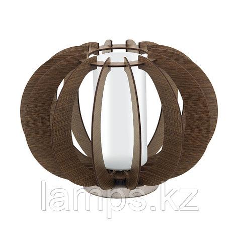 Светильник настольный  Eglo STELLATO 3, сталь, дерево, стекло, фото 2