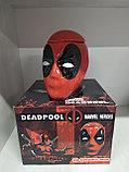Кружка 3D DeadPool с крышкой, фото 3