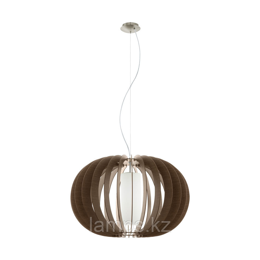 Светильник подвесной Eglo STELLATO 3, сталь, дерево, стекло
