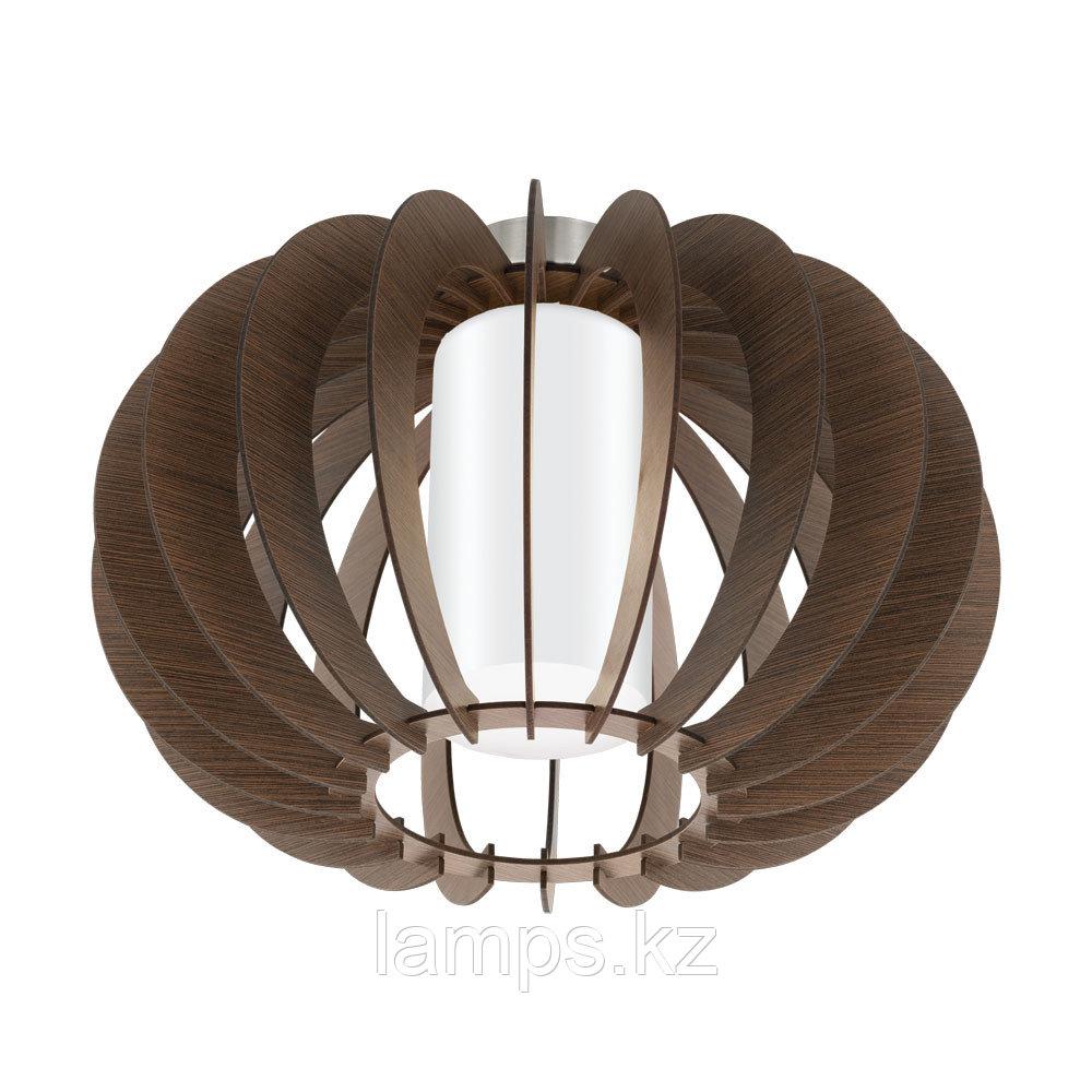 Светильник потолочный Eglo STELLATO 3, сталь, дерево, стекло